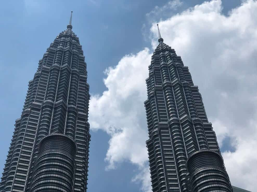 The twin towers in KL are beautiful to see.