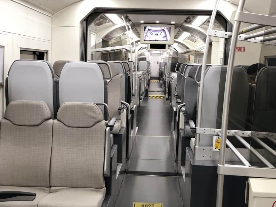 The KLIA airport express train is the best way to get from the airport to the city in Kuala Lumpur if you are traveling alone.
