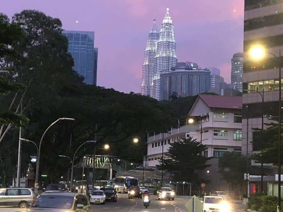 Driving in KL is not hard with most foreign licenses